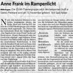 Filderzeitung | Anne Frank