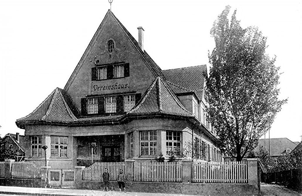 CVJM Vereinshaus 1911