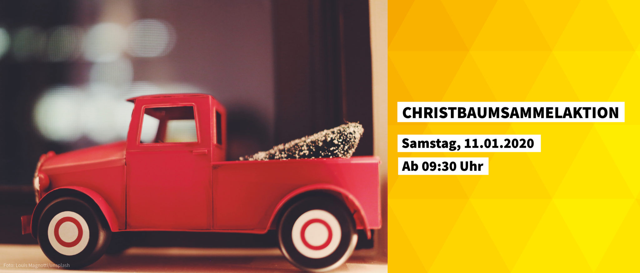Christbaumsammelaktion
