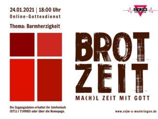 Brotzeit – Onlne-Gottesdienst über Zoom